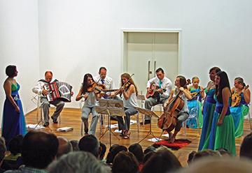 The Boston musical group in full swing