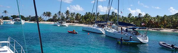 Entrance to Tobago Cays, Petite Bateau